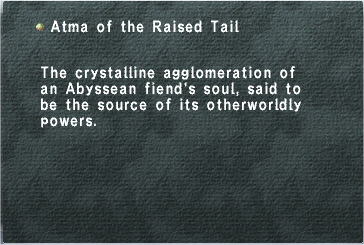 Atma of the Raised Tail