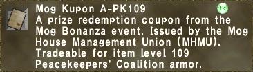 Mog Kupon A-PK109