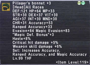 Pillager's Bonnet +3