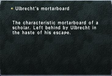 Ulbrechts Mortarboard