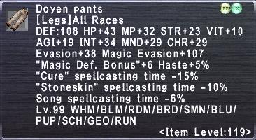 Doyen Pants