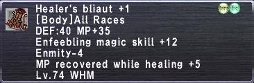 Healer's Briault +1