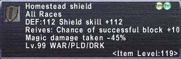 Homestead Shield
