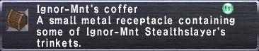 Ignor-Mnt's Coffer