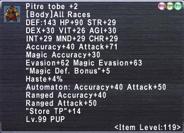 Pitre Tobe +2