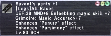 Savant's Pants +1