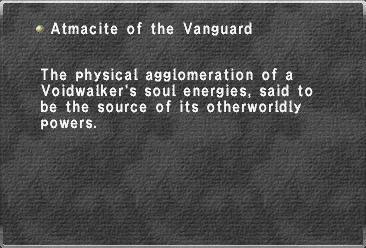 Atmacite of the Vanguard