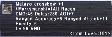 Malayo Crossbow +1