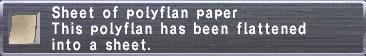 Polyflan-Paper