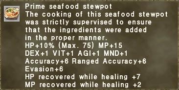 Prime seafood stewpot
