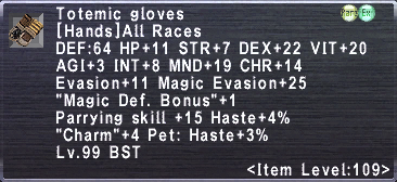 Totemic Gloves