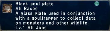 Blanksoulplate