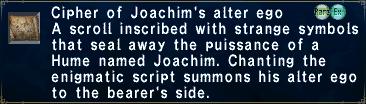 Cipher Joachim