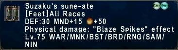 Suzaku's sune-ate