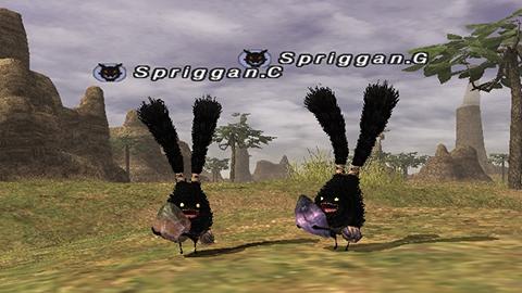 Anniversary MMO Collaboration Spriggan Spirits