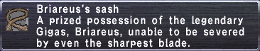 Briareus's Sash
