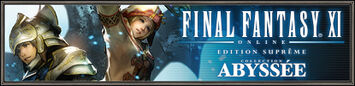 FINAL FANTASY XI EDITION SUPREME COLLECTION ABYSSEE bientôt disponible ! (28.04.2011)