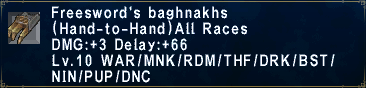 Freesword's Baghnakhs
