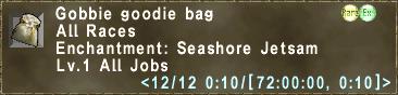 Gobbie Goodie Bag