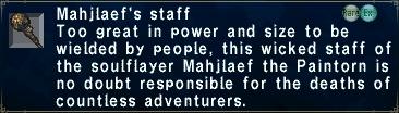 Mahjlaef's Staff