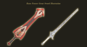 Rune Fencer Great Sword