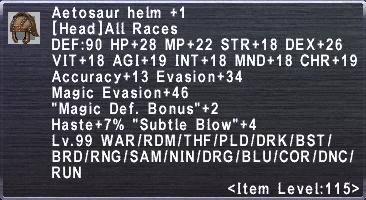 Aetosaur Helm +1