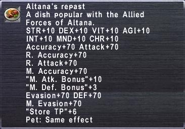 Altana's Repast