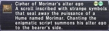 Cipher-Morimar