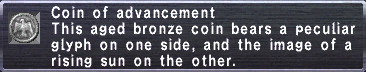 Coin of Advancement