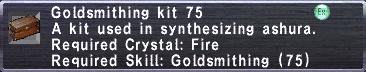 Goldsmithing Kit 75