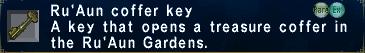 Ru'Aun coffer key