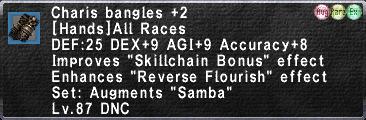 Charis bangles +2