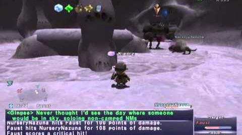FFXI NM Saga 260 Faust vs BST solo Full Battle