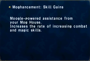 Moghancement Skill Gains