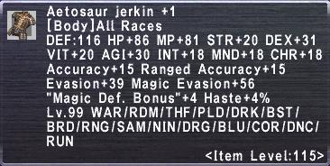 Aetosaur Jerkin +1