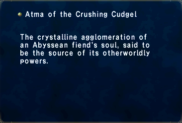 Atma of the Crushing Cudgel