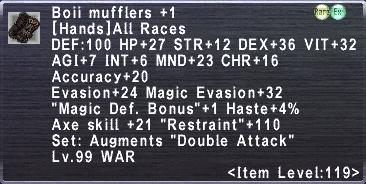 Boii Mufflers +1