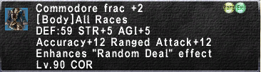 Commodore Frac +2