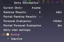 Example Unity Information Display PPE 1020-0