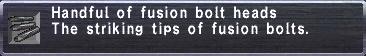 Fusion Bolt Heads