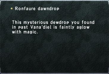Ronfaure Dawndrop