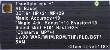 Thuellaic Ecu +1
