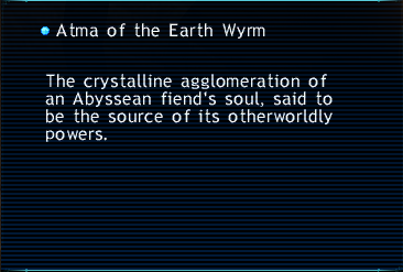 Atma of the Earth Wyrm