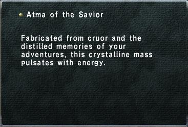 Atma of the Savior