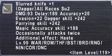 Blurred Knife Plus 1