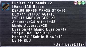 Luhlaza bazubands +2