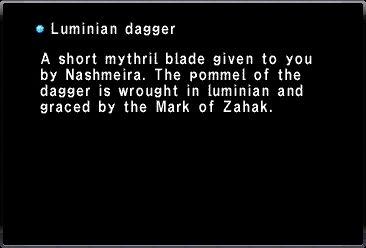Luminian Dagger