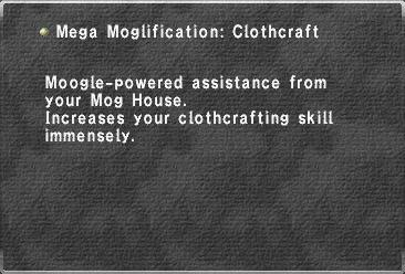 Mega Moglification Clothcraft