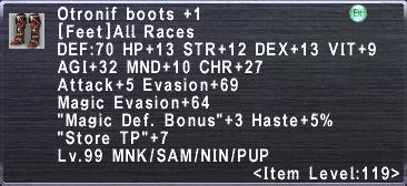 Otronif Boots +1