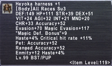 Heyoka Harness +1